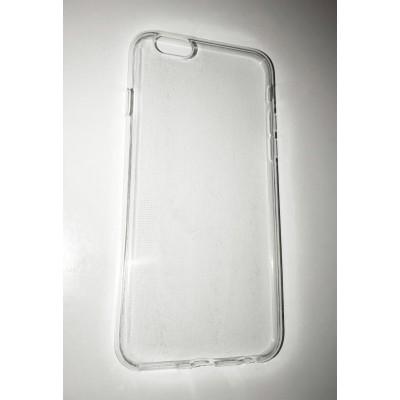 Ultratenký silikonový obal pro Apple iPhone 6/6S - průhledný