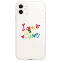 Kryt pro iPhone 11 Love Is Love