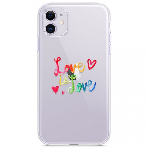 Kryt pro iPhone 11 Love Is Love