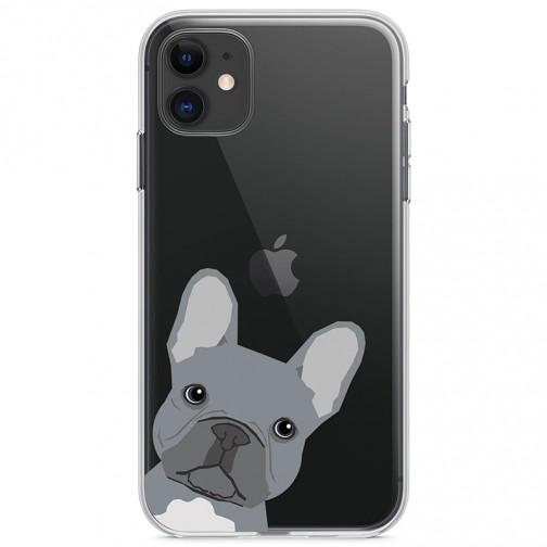 Kryt pro iPhone 11 Šedý buldok