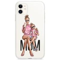 Kryt pro iPhone 11 Trendy máma s dcerou