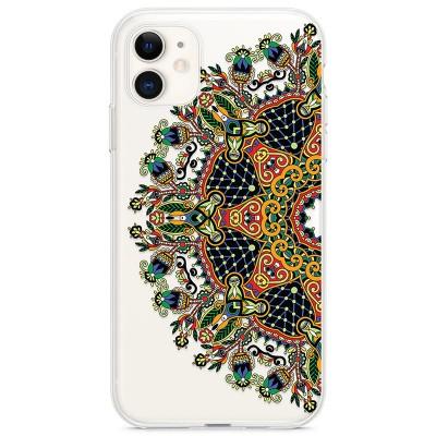 Kryt pro iPhone 11 Mandala v přírodních barvách