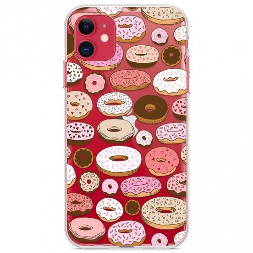 Kryt pro iPhone 11 Sladké donuty