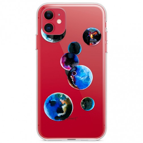 Kryt pro iPhone 11 Malované planety