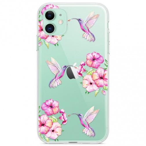 Kryt pro iPhone 11 Sladcí kolibříci