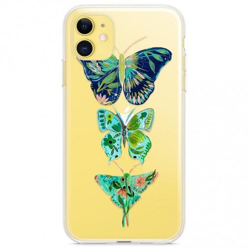 Kryt pro iPhone 11 Exotičtí motýli