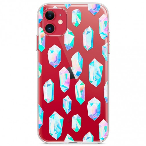 Kryt pro iPhone 11 Křišťálové diamanty