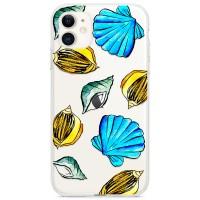 Kryt pro iPhone 11 Mušle z moře