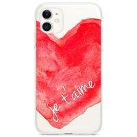 Kryt pro iPhone 11 Srdce - Miluji tě