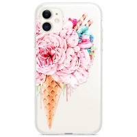 Kryt pro iPhone 11 Květinová zmrzlina