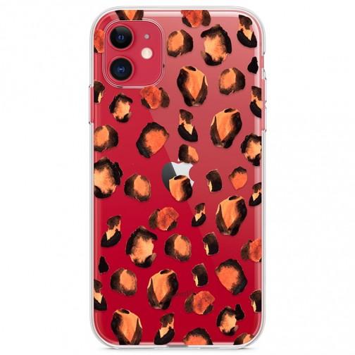 Kryt pro iPhone 11 Leopardí vzor