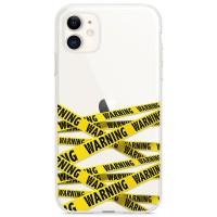 Kryt pro iPhone 11 Varovací páska