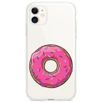 Kryt pro iPhone 11 Růžový donut