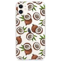 Kryt pro iPhone 11 Kokosový vzor