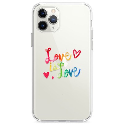 Kryt pro iPhone 11 Pro Love Is Love