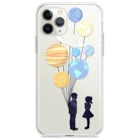 Kryt pro iPhone 11 Pro Pár s balónky jako planety