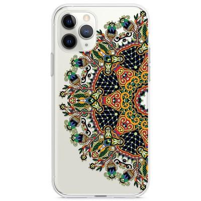 Kryt pro iPhone 11 Pro Mandala v přírodních barvách