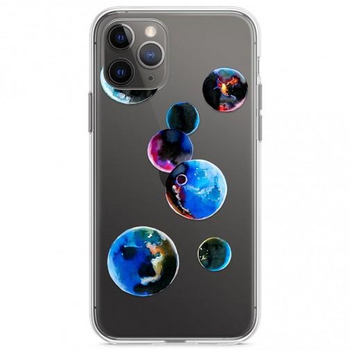 Kryt pro iPhone 11 Pro Malované planety