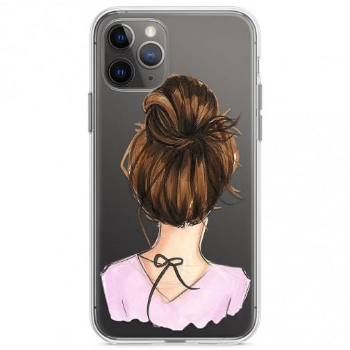 Kryt pro iPhone 11 Pro Elegantní žena s drdolem