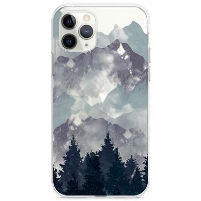 Kryt pro iPhone 11 Pro Hory se stromy