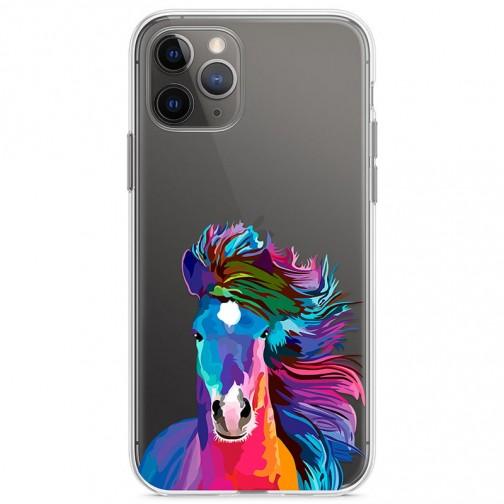 Kryt pro iPhone 11 Pro Barevný kůň