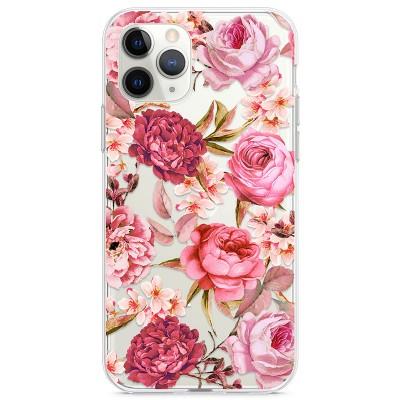 Kryt pro iPhone 11 Pro Květiny vodovými barvami