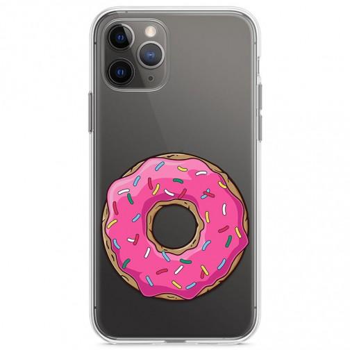 Kryt pro iPhone 11 Pro Růžový donut