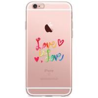 Kryt pro iPhone 6/6s Love Is Love