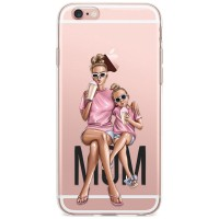 Kryt pro iPhone 6/6s Trendy máma s dcerou