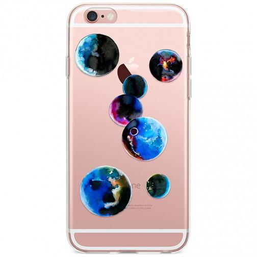 Kryt pro iPhone 6/6s Malované planety