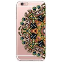 Kryt pro iPhone 6/6s Mandala v přírodních barvách