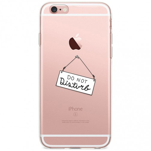 Kryt pro iPhone 6/6s Do Not Disturb