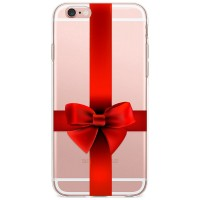 Kryt pro iPhone 6/6s Rudá mašle
