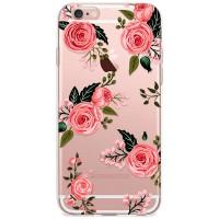 Kryt pro iPhone 6/6s Růžové elegantní růže