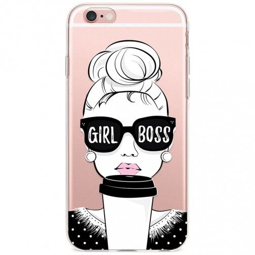 "Kryt pro iPhone 6/6s Šéfka ""Girl Boss"""