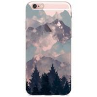 Kryt pro iPhone 6/6s Hory se stromy