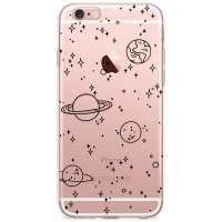 Kryt pro iPhone 6/6s Kreslený vesmír