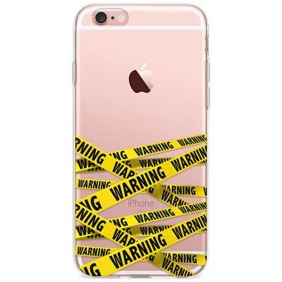 Kryt pro iPhone 6/6s Varovací páska