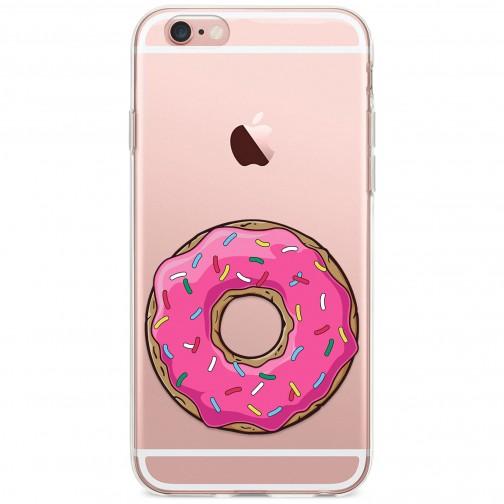 Kryt pro iPhone 6/6s Růžový donut