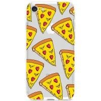 Kryt pro iPhone 7/8/SE (2020) Sýrová pizza se srdíčky