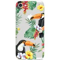 Kryt pro iPhone 7/8/SE (2020) Tukani v džungli