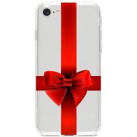 Kryt pro iPhone 7/8/SE (2020) Rudá mašle