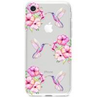 Kryt pro iPhone 7/8/SE (2020) Sladcí kolibříci
