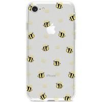 Kryt pro iPhone 7/8/SE (2020) Vzor včelí královna