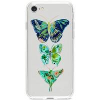 Kryt pro iPhone 7/8/SE (2020) Exotičtí motýli