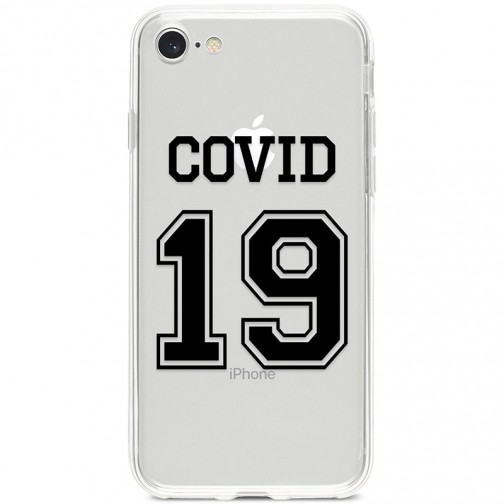 Kryt pro iPhone 7/8/SE (2020) COVID 19