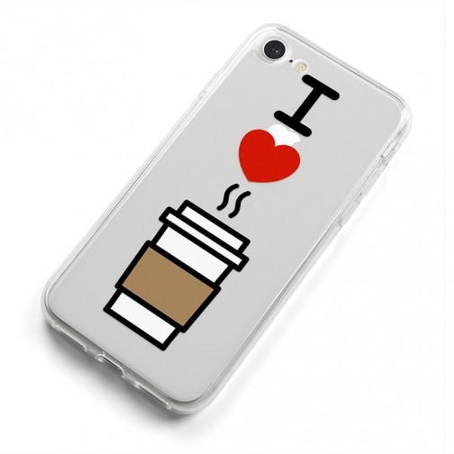 Kryt pro iPhone 7/8/SE (2020) Miluji kávu