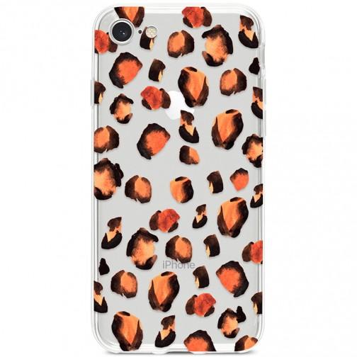 Kryt pro iPhone 7/8/SE (2020) Leopardí vzor