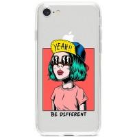"""Kryt pro iPhone 7/8/SE (2020) Buď odlišný """"Be Different"""""""