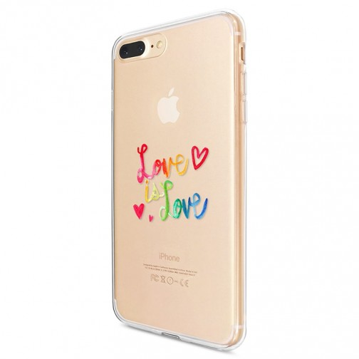 Kryt pro iPhone 7 Plus / 8 Plus Love Is Love